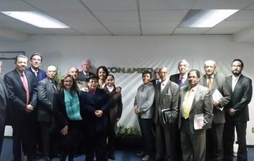 Integrantes del grupo de análisis crítico de casos de la CONAMED