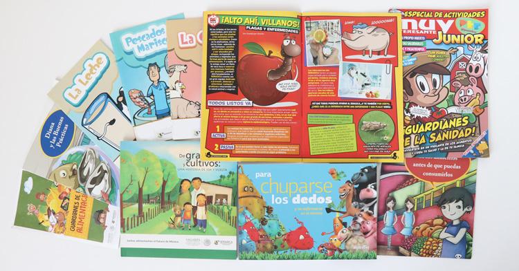 Ofrece SENASICA a niñez mexicana libros didácticos