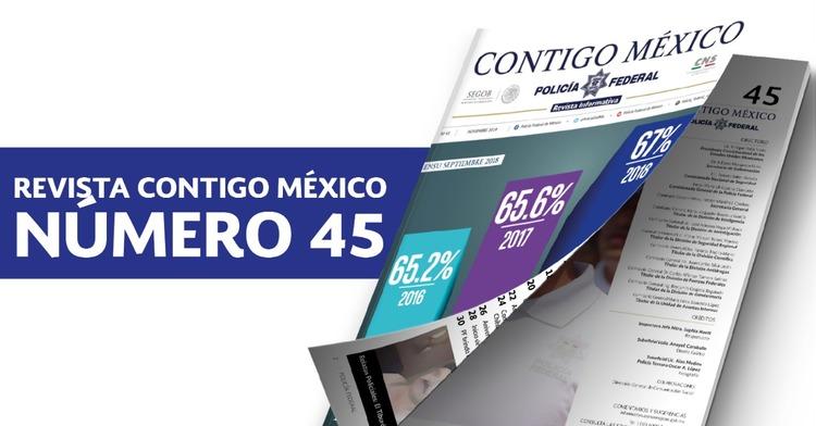 Edición 45 de la revista Contigo México