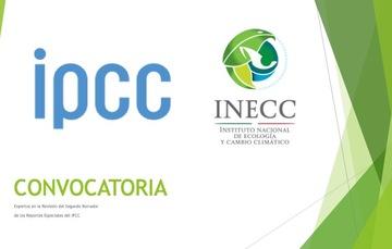 Convocatoria IPCC-INECC Noviembre 2018