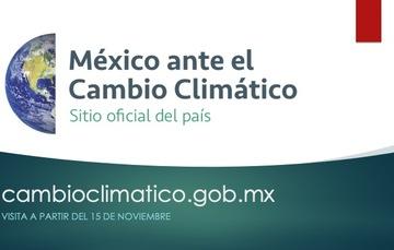 Visita cambioclimatico.gob.mx