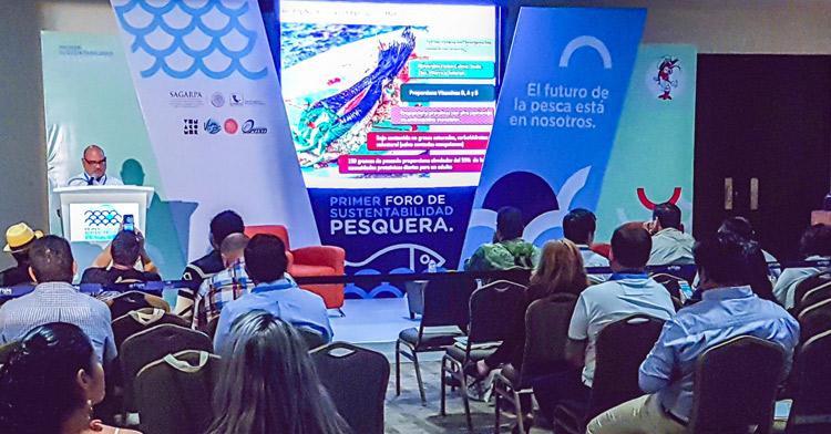 Primer Foro de Sustentabilidad Pesquera en Mazatlán.