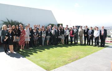 Participantes de la Escuela de Liderazgo en Seguridad Nuclear y Radiológica