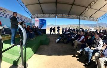 El Ing. Virgilio Bucio Reta, delegado de la Secretaría de Agricultura, Ganadería, Desarrollo Rural, Pesca y Alimentación (SAGARPA), celebró el apoyo del Gobierno del Estado para la instalación del parque POLLUX en el Sur de Nuevo León.