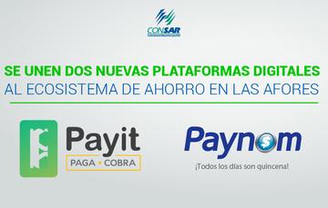 Se unen dos nuevas plataformas digitales al ecosistema de ahorro en las AFORES.