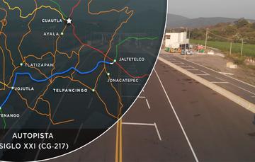 Entrega de la Autopista Siglo XXI