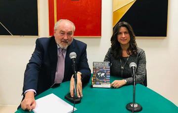 El Dr. Andrés Serbin y la Dra. Natalia Saltalamacchia