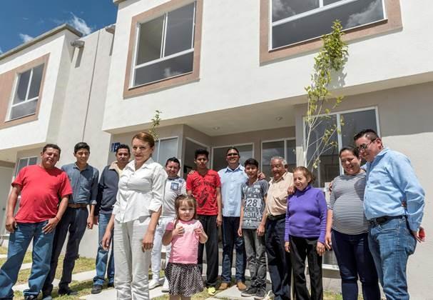 Familias beneficiadas con el subsidio
