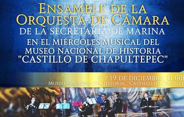 Ensamble de la Orquesta de Cámara de la Secxretaria de Marina