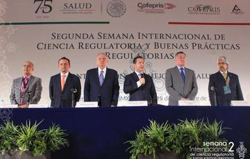 El titular de la COFEPRIS señaló lo anterior al inaugurar la Segunda Semana Internacional de Ciencia Regulatoria y Buenas Prácticas Regulatorias, Contribución a la Mejora Regulatoria