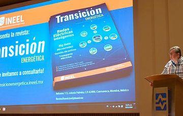 Se llevó a cabo la presentación del primer número de la publicación digital: Transición Energética, editada por el INEEL.