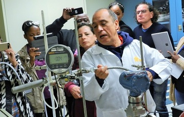 Representantes de los países que conforman la COPANT (Comisión Panamericana de Normas Técnicas), visitaron las instalaciones del CENAM.