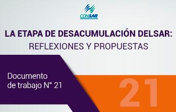 """Nuevo Documento de Trabajo """"La etapa de desacumulación del SAR: Reflexiones y propuestas""""."""
