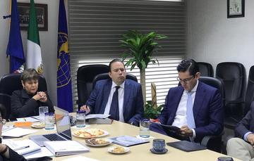 Foto de Reunión para presentación de resultados