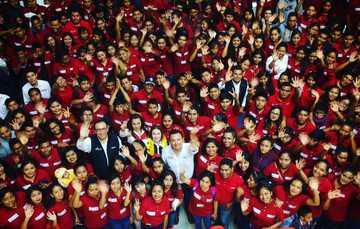 El director general del Conafe, Enrique Torres Rivera, se despide y agradece el esfuerzo de las figuras educativas de todo el país.