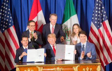La firma del T-MEC cierra la fase de negociación del Tratado, dando paso a la etapa de aprobación legislativa en cada uno de los tres países.