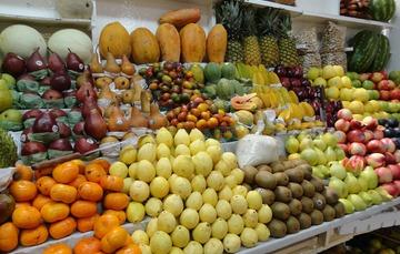Stand de Frutas en un mercado
