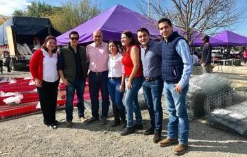 Gobierno Federal entregó incentivos esta semana en municipio de García