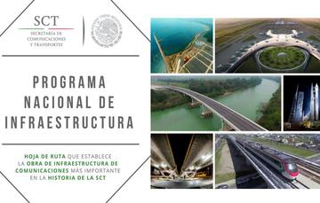 La mayoría de los objetivos del Programa Nacional de Infraestructura se cumplieron