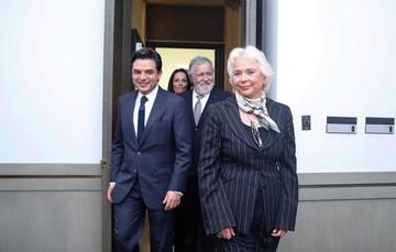 Olga Sánchez Cordero, la primera mujer en ser titular de la SEGOB