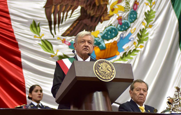 Lic. Andrés Manuel López Obrador, Presidente de los Estados Unidos Mexicanos