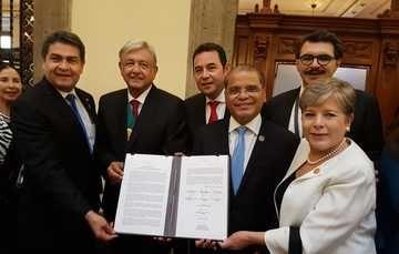 México, El Salvador, Guatemala y Honduras acuerdan nuevo Plan de Desarrollo Integral para atender fenómeno migratorio