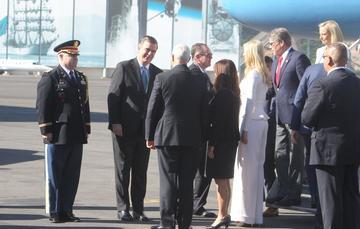 Arrival of International Guests for the Inauguration of Andrés Manuel López Obrador
