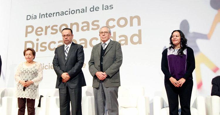 Funcionarios del IMSS, CONADIS, BIENESTAR Y SSA.