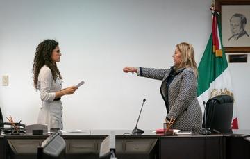 Toma de Protesta a Maria Eugenia Navarrete Rodríguez como titular de la JFCA