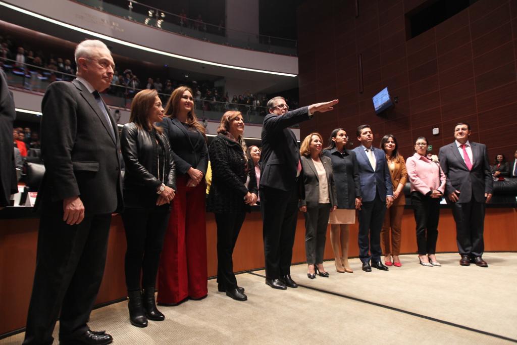 El Senado de la República ratifica el nombramiento de Marcelo Ebrard Casaubón como Secretario de Relaciones Exteriores