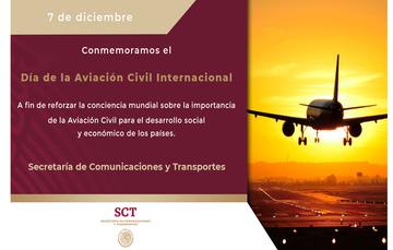 Conmemoramos el Día de la Aviación Civil Internacional