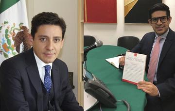 Alejandro Ramos y Martin Borrego