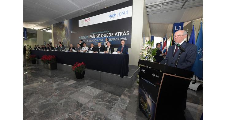 El Subsecretario de Transporte encabezó con la representación del Secretario de Comunicaciones y Transportes, ingeniero Javier Jiménez Espriú, la celebración del Día de la Aviación Civil Internacional