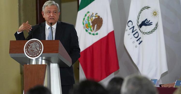 Mensaje del Presidente Andrés Manuel López Obrador en la entrega del Premio Nacional de Derechos Humanos