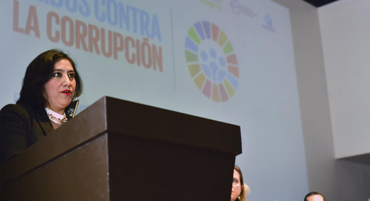 Participa Titular de la Función Pública en inauguración de trabajos por el Día Internacional contra la Corrupción 2018