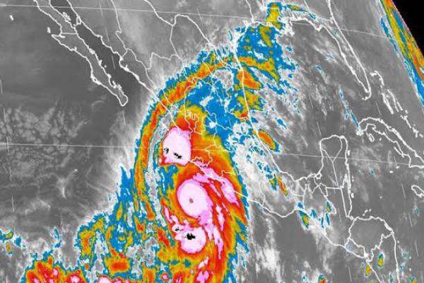 Huracán Patricia se enfila hacia Tamaulipas como depresión tropical