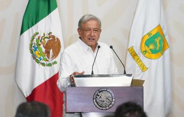 Presidente Andrés Manuel López Obrador encabezó la firma del Acuerdo junto a gobernadores de 8 entidades federativas