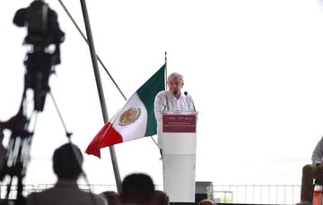 El Presidente Andrés Manuel López Obrador presentó en Campeche el Plan Nacional de Producción de Hidrocarburos