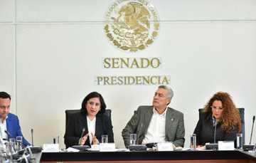 Secretaria de la Función Pública comparece ante Comisiones de Gobernación y Anticorrupción del Senado