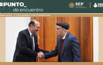 Marcos Bucio, nuevo titular del INEA