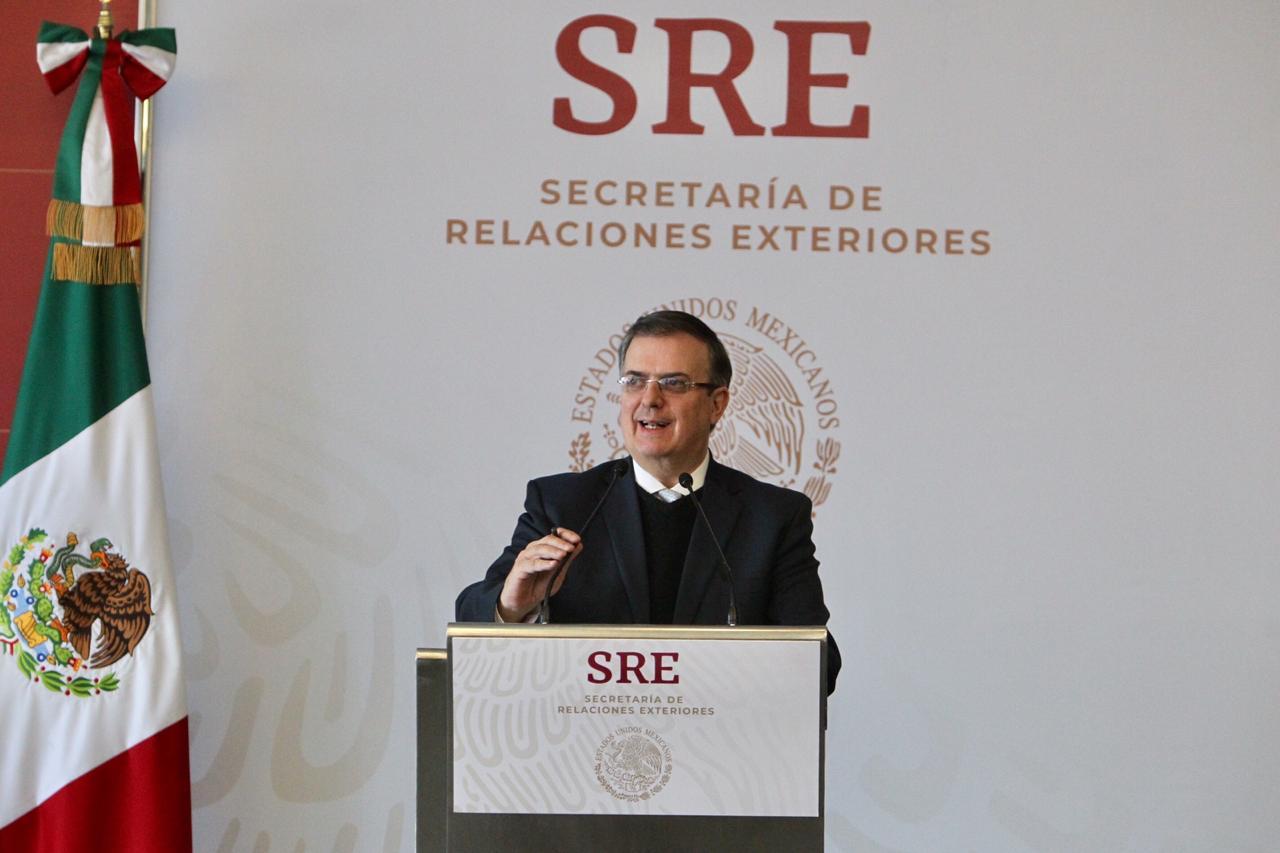 Mensaje a medios del canciller Marcelo Ebrard
