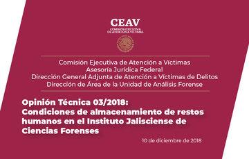 Opinión Técnica 03/2018