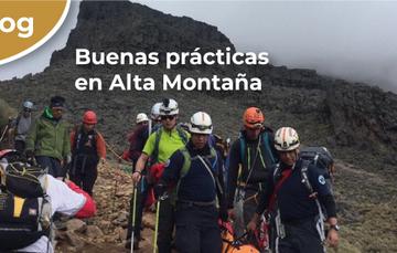 Buenas prácticas en Alta Montaña.