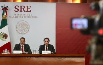 Conferencia de prensa del Consultor Jurídico Alejandro Alday