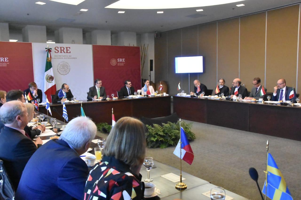 Unión Europea expresa su interés en participar en el Plan de Desarrollo Integral para Centroamérica