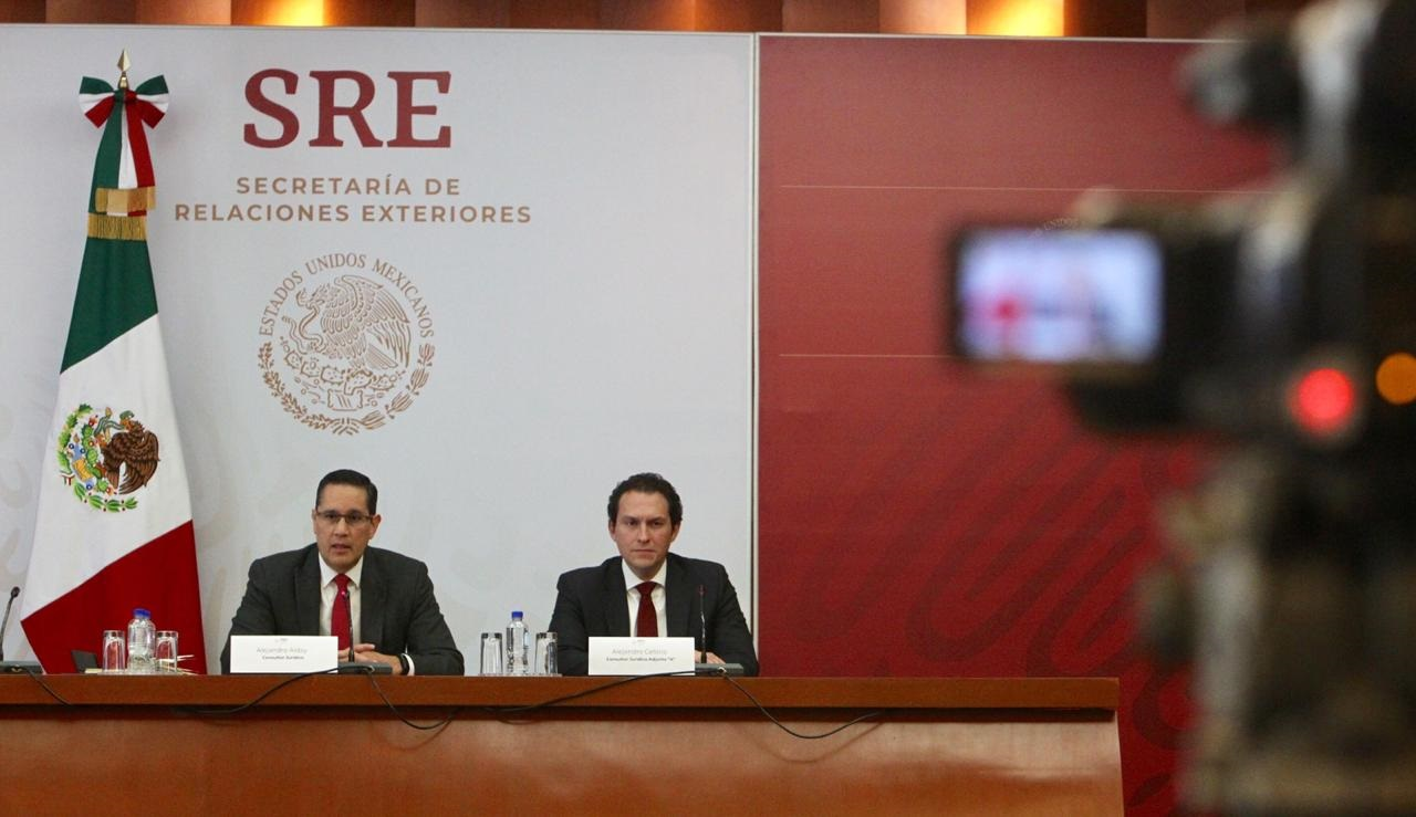 Press conference by SRE Legal Counsel Alejandro Alday