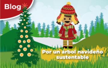 Por un árbol navideño sustentable