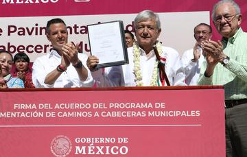 Programa de Pavimentación de Caminos a Cabeceras Municipales