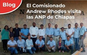 El Comisionado Nacional visita los Parques Nacionales Cañón del Sumidero, Lagunas de Montebello y el Santuario Playa Puerto Arista en Chiapas.