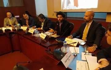 IME, INE y representantes de los Partidos Políticos, se reúnen para discutir el voto en las RME